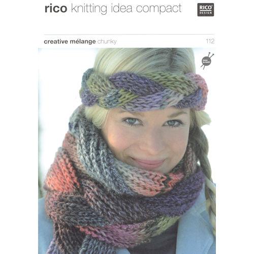 Rico Knitting Pattern 112