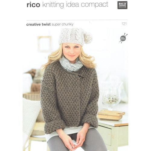Rico Knitting Pattern 121