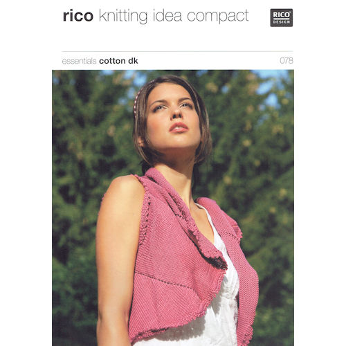 Rico Knitting Pattern 078