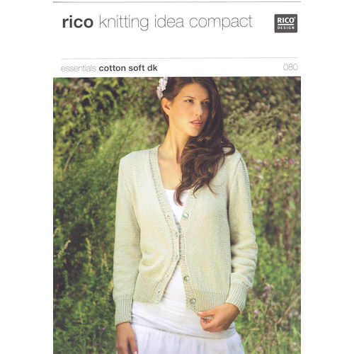 Rico Knitting Pattern 080