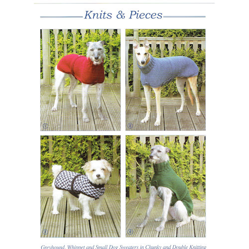 Knits Pieces Pattern Dog Coat Gh