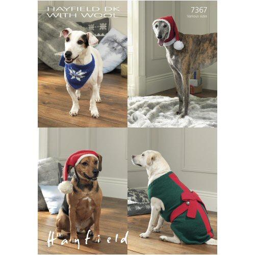 Sirdar Pattern 7367 Dog Coats