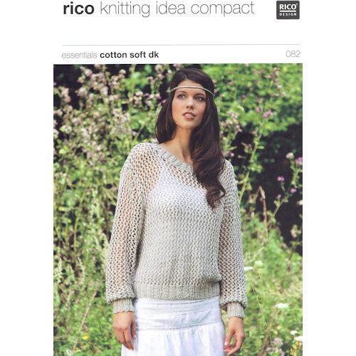 Rico Knitting Pattern 082