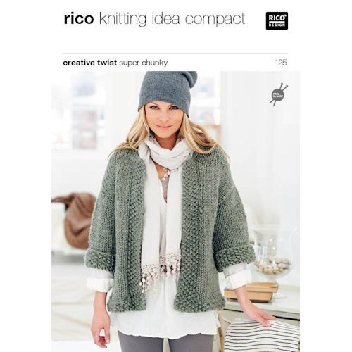 Rico Knitting Pattern 125
