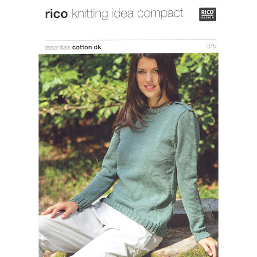Rico Knitting Pattern 075