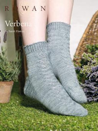 Rowan Sock pattern by Sarah Hatton
