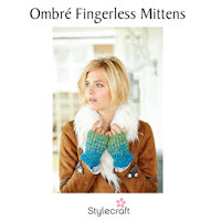 Free knitting pattern for fingerless mittens