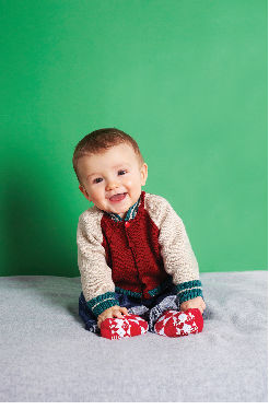 Free knitting pattern for baby jacket