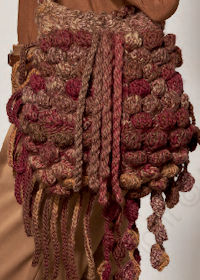 Free knitting pattern for bag in Katia Azteca
