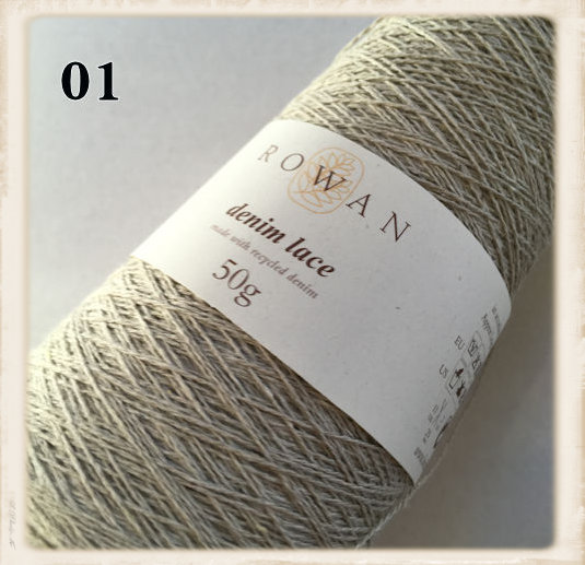 rowan denim lace sand